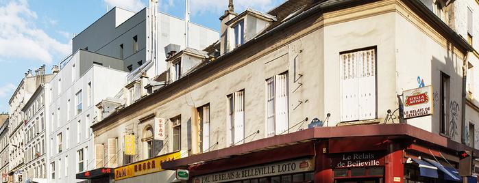 Le Relais de Belleville is one of Paris la nuit.