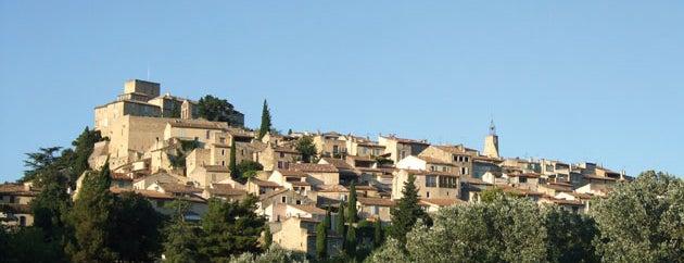 Ansouis is one of Les plus beaux villages de France.