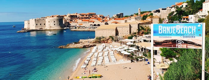 BanjeBeach Club is one of Dubrovnik.