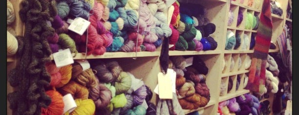 Knitty City is one of one of these days: yarn.