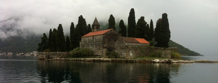 Ostrvo Sveti Đorđe/Juraj (Island Of St George) is one of Perast.