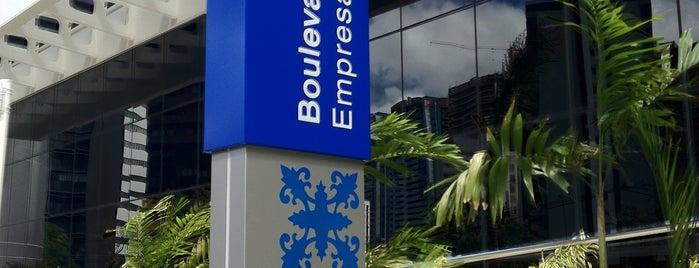 Boulevard Side Empresarial is one of Tempat yang Disukai Marcos.