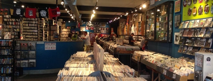 Reckless Records is one of Chicago.