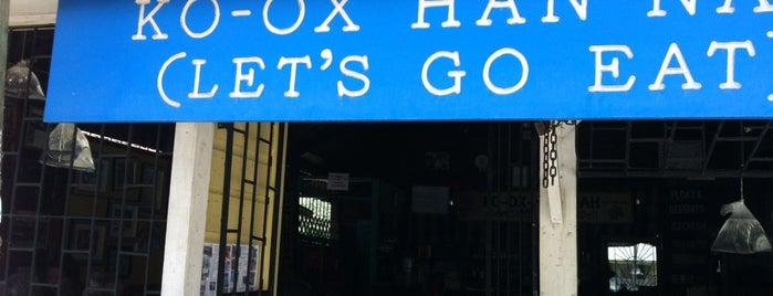Ko-Ox Han-Nah is one of Belize.