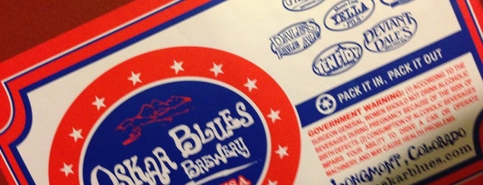 Oskar Blues Brewery Tour is one of Breweries USA.