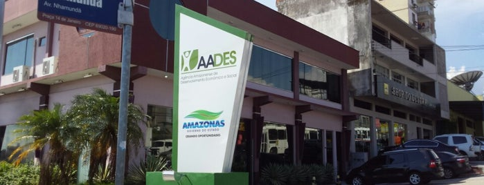 Agência Amazonense de Desenvolvimento Social - AADES is one of Meus locais.