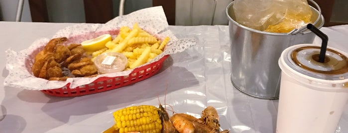Shrimp Shack is one of Riyadh Food.