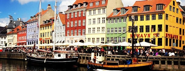 Nyhavn is one of Kopenhag.