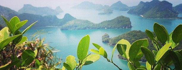 อุทยานแห่งชาติ หมู่เกาะอ่างทอง is one of A Perfect Day in Koh Samui.