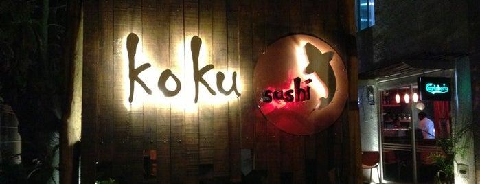 Koku Sushi. is one of สถานที่ที่บันทึกไว้ของ Gerardo.