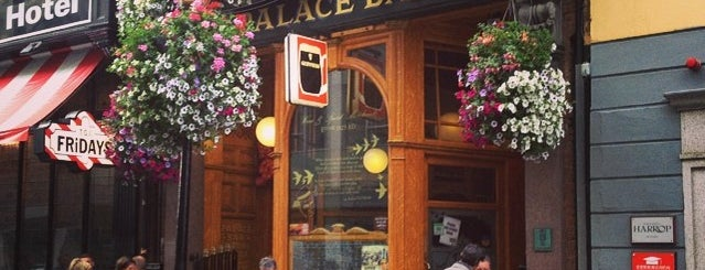 The Palace Bar is one of Dublin TODO.