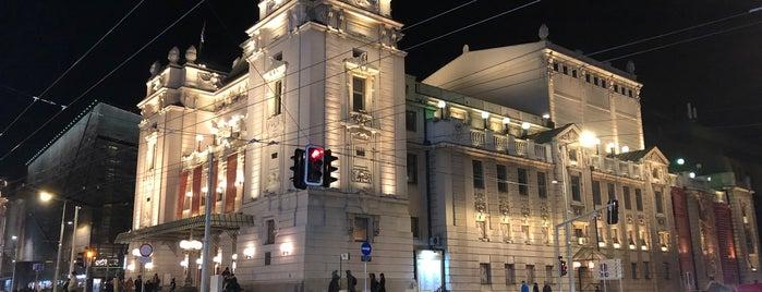 National Theater In Belgrade is one of Belgrad.