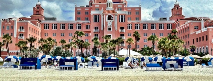 The Don CeSar is one of My Beaches.