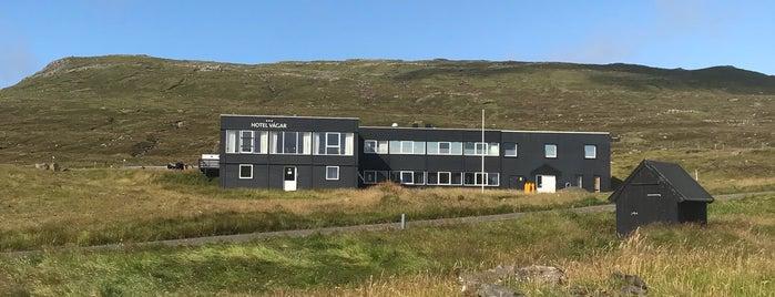 Hotel Vagar is one of Faroe Islands 🇫🇴.