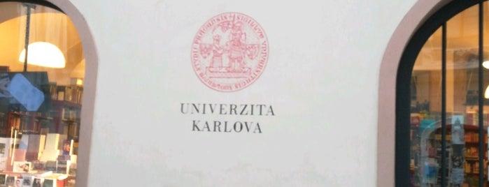 Knihkupectví Karolinum is one of Prague.
