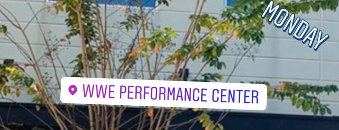 WWE Performance Center is one of EUA - Leste.