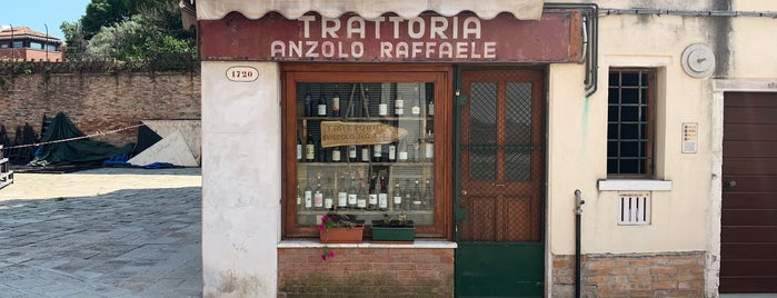 Trattoria Anzolo Raffaele is one of Венеция.