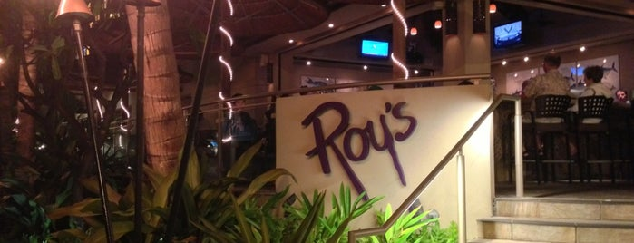 Roy's Waikiki is one of New American.