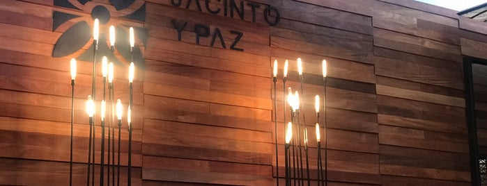 Jacinto Y Paz is one of DF- Comida.