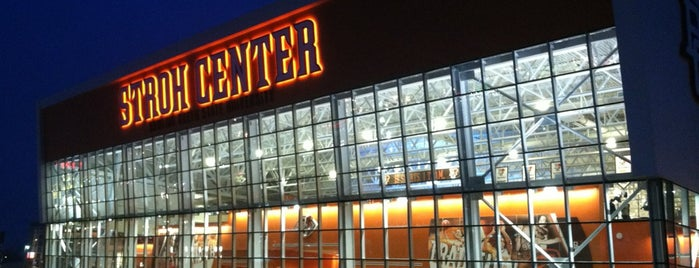 Stroh Center is one of Sporting Venues To Visit.....