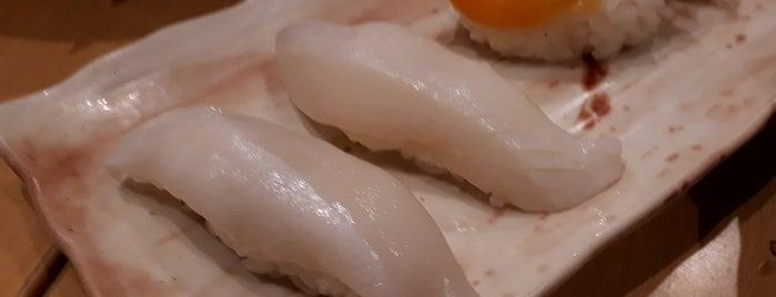 沼津 魚がし鮨 沼津港店 is one of 思い出の場所.