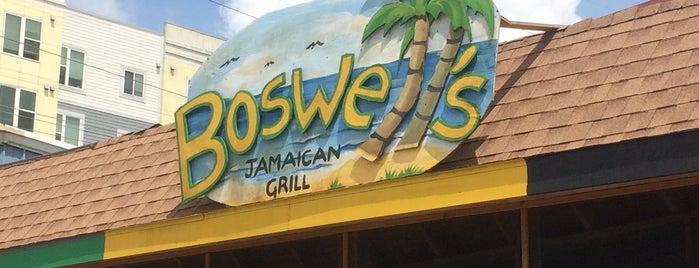Boswell's Jamaican Grill is one of Gespeicherte Orte von Jonathan.