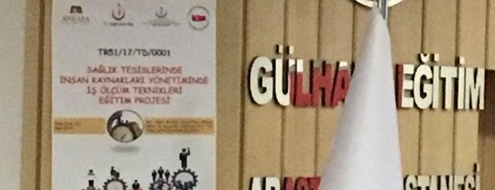 Gülhane Eah Akademik Toplantı Salonu is one of Lieux qui ont plu à Mahmut.