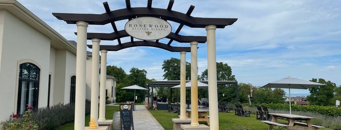Rosewood Estates Winery is one of Napa/Sonoma.