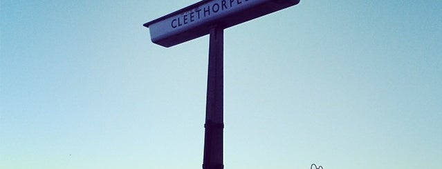 Cleethorpes Railway Station (CLE) is one of Locais curtidos por Carl.