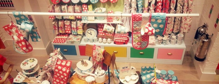 Cath Kidston is one of KEEP CALM AND ENJOY LONDON.