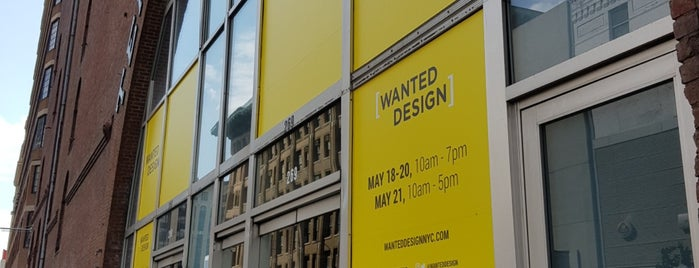 Wanted Design is one of NYC Outings.