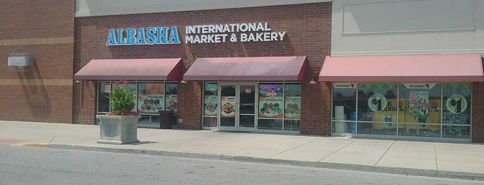 Albasha International Market And Bakery is one of Columbus International Markets.