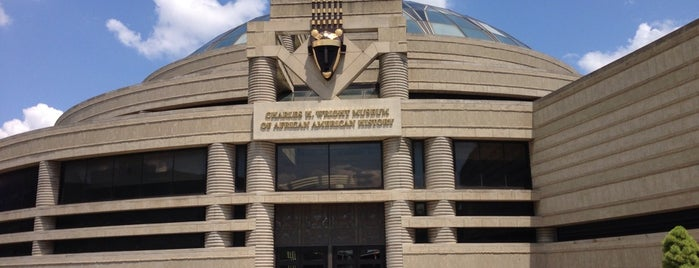 Charles H Wright Museum of African American History is one of Detroit list.