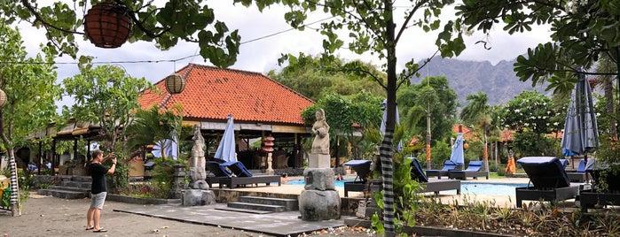 Adi Asri Beach Resort and Spa is one of Locais curtidos por Johan.