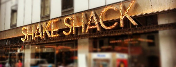 Shake Shack is one of Minha NYC.