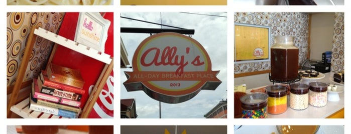Ally's All-Day Breakfast Place is one of Lugares favoritos de Jerome.