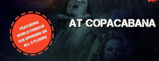 The Copacabana is one of Joonbug's Weekly Parties!.