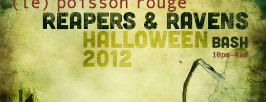 Le Poisson Rouge is one of Joonbug's Weekly Parties!.