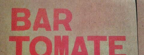 Bar Tomate is one of TOP RESTAURANTS: EAT & DRINK.