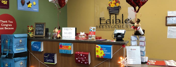 Edible Arrangements is one of Betty'in Beğendiği Mekanlar.