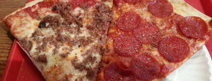 New York Pizza Suprema is one of Eating Manhattan III.