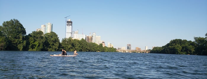 Lady Bird Lake @ Kayak/canoe Dock is one of ATX.