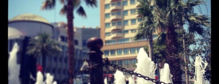 Nazilli Belediye Meydanı is one of Tempat yang Disukai Evren.