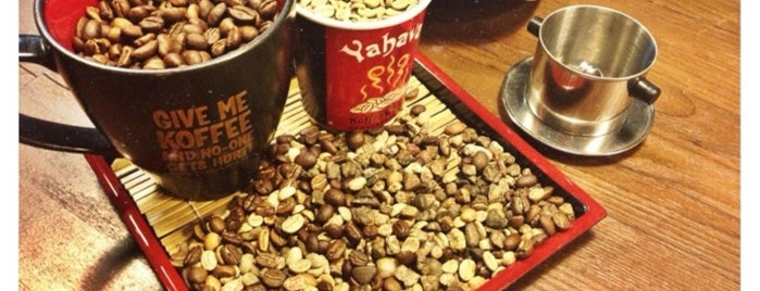 Yahava KoffeeWorks is one of SG cafe.