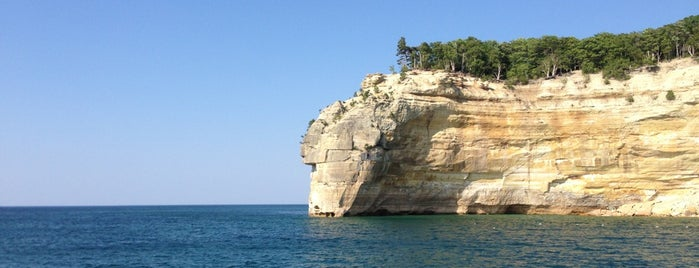 Pictured Rocks Cruises is one of Things to See.