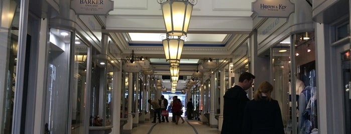 Princes Arcade is one of London shopping..