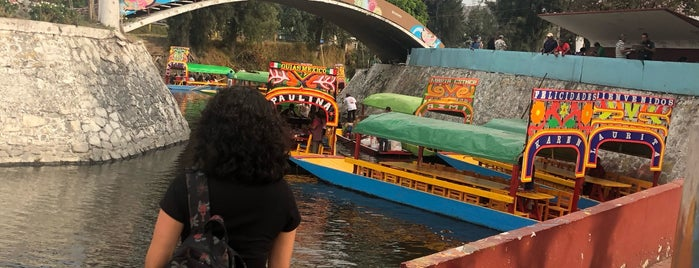 Trajineras Xochimilco is one of Lugares favoritos de Alejandra.