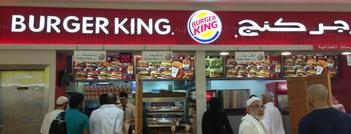 Burger King is one of Umrah.