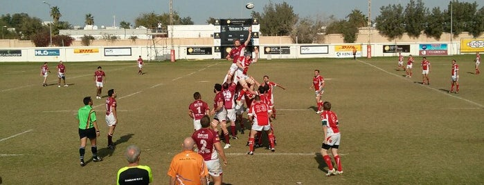 Doha Rugby Club is one of Orte, die Tareq gefallen.