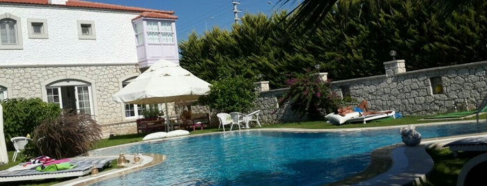 Ala Vento Hotel -Alacati is one of k&k : понравившиеся места.